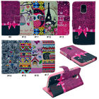 New Colorful Magnetic Wallet PU Stand Flip Case For Samsung Galaxy S5 V i9600