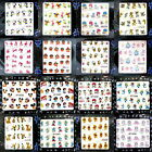 Nail Art Water Transfers Stickers Decals Tinkerbell Mickey Betty Pooh Marie Cat