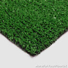CHEAP BUDGET ARTIFICIAL GRASS, 6MM THICK ASTRO TURF GREEN LAWN 2M & 4M WIDE
