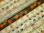 Fryetts Designer PVC VINYL FABRIC WIPE CLEAN OILCLOTH KITCHEN TABLE TABLECLOTH