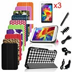 "7in1 Bundles Flip Leather Case Cover for Samsung Galaxy Tab 4 7.0"" 7-inch Tablet"