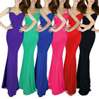 Summer Backless Ball Gown Evening Party Cocktail Prom Fishtail Long Maxi Dress 8