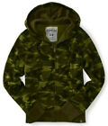 Aeropostale Mens Green Camouflage Camo Dynamo Zip Up Sweatshirt Hoodie Jacket