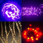 2M Waterproof 20 LEDs Garden Fairy String Light Xmas Indoor Outdoor+Battery Case