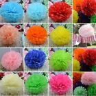 5PC Tissue Paper Pom-Poms Flower Wedding Party Home Outdoor Decor 13CM 20CM 25CM