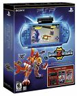 NEW Sony PSP 3000 3001 Limited Edition InviZimals Blue Handheld Console System
