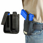 New Barsony Ambi Pancake Holster + Dbl Mag Pouch Smith & Wesson Full Size 9mm 40