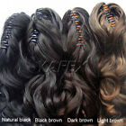 Vogue Club Long Wavy curly Ponytail Pony Vivid clip in hair Extension Full head