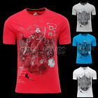 Cool 4Colors Muscle Mens Casual Summer T-Shirt Cotton Soft Slim Fit Tee Shirt