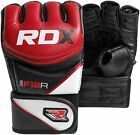 RDX UFC MMA Grappling Gloves Fight Boxing Punch Bag Kick Muay Thai Pad Shorts US