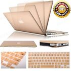 "Champagne Gold Rubberized Case+Keyboard Cover For MacBook Air 11"" 13"" Pro/Retina"