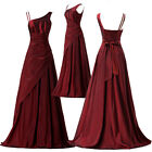 Hot Multi Colors Asymmetrical Ball Gown Evening Prom Party Wedding Bridal Dress