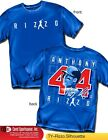 Anthony Rizzo Chicago Cubs Star,  Name Number,  Shirt Style (MLB406R)