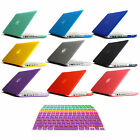 "New Rubberized Hard Case Cover For Macbook Pro 13"" 15"" Retina & Air 11"" 13"""