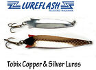 Toby Lure Type TOBIX Copper & Silver Spinning Salmon & Seatrout  18g & 28g TBSK