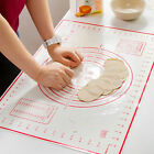 Silicone Fibreglass Rolling Dough Pad Pastry Bakeware Silpat Liner Baking Mat