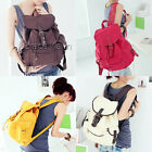 Clearance! Women 4Color Canvas Bookbags Shoulder Bags Outdoor Rucksack Backpack