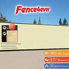 Tan Beige 4'x50' Fence Windscreen Privacy Screen Shade Cover Mesh Fabric Tarp