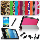 For LG G PAD 8.3 V500/V510/VK810 LTE Flip Leather Smart Case Cover 8in1 Bundles