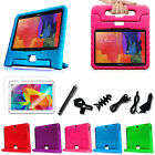 """For Samsung Galaxy Tab 4 10.1"""" Kids Friendly Shock Proof Case Cover + Bundles"""