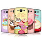 HEAD CASE DESIGNS CUPCAKE HAPPINESS CASE COVER FOR SAMSUNG GALAXY S3 III I9300