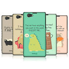 HEAD CASE DESIGNS DOSES OF NONSENSE CASE COVER FOR SONY XPERIA Z1 COMPACT D5503