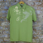 Volcom Compress Casual Short Sleeve Polo Shirt New - Green - Size: S