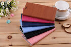 Wood Flip Stand Cover Leather Case For Xiaomi Hongmi Redmi-note Red rice note