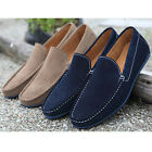 US5-10 New Hollow Out Nubuck Leather Casual SLIP-ON Loafers fashion mens shoes