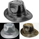 Men's Winter Cool Fedora Trilby Gangster Women Hat Summer Beach Sun Straw hat