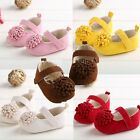Many color flower Newborn Infant Toddler Sole Crib girls Baby shoes to 18Months