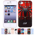 Cool Patterns Back Snap On Protective Case Cover Shell For Apple iPhone 4 4S New