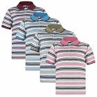 BOYS STRIPY PIQUE POLO SHIRT KIDS SHORT SLEEVE SUMMER T-SHIRT TOPS SIZES 3-14 Y