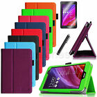 For ASUS MeMO Pad 7 ME176CX /ME176C Folio Leather Stand Case Cover/Film/Stylus
