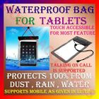 """WATERPROOF BAG for TABLET TAB """"PROTECT from DUST,RAIN,WATER"""" COVER POUCH CASE N4"""