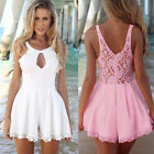 CHEAP Retro Girl Sexy Lace Sleeveless Wear To Work Jumpsuit Club Pub Playsuits