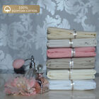 Cot Pillowcase Pair 200 Thread Baby Bedding 100% PURE EGYPTIAN COT