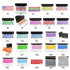 "Stripe Style Keyboard Cover Silicone Skin For MacBook Pro Air 13"" 15"" 17"" iMac"