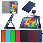 "Folio Stand Leather Cover Case for Samsung Galaxy Tab S 8.4 SM-T700 8.4"" Tablet"
