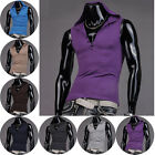 HOT muscle mens Hooded gym athletic tank top undershirts vest sleeveless t-shirt