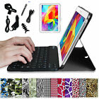 For Samsung Galaxy Tab 4 10.1 inch Tablet Bluetooth Keyboard Leather Case Cover