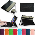 "Folio Leather Case Cover + Keyboard for Microsoft Surface Pro/Pro 2 10.6"" Tablet"