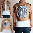 1PC Attack On Titan Shingeki No Kyojin Scouting Legion Cosplay Costume Jacket &