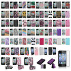 Glitter Diamond Case Bling Diamante Hard For Apple iPhone 4 4s+Screen Protector