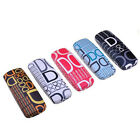 Letters Print Pattern Design Glasses Case Hard Protective Box for Presbyopic BL