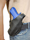 New Barsony Black Leather Pancake Gun Holster FN HK GLOCK Full Size 9mm 40 45