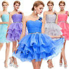 Sweet Party Evening Bridesmaid Prom Ball Short Dress Formal Dance For Women Girl