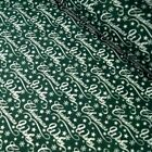 Christmas Wishes Stars & Snowflakes Red And Green Polycotton Fabric
