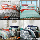 Logan and Mason Doona|Quilt Cover Set Single | Double| Queen | King | Super King