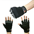 Hunting Fishing Sports Cycling Bike Bicycle Half Finger Fitted Design Gloves